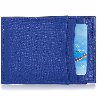 mens money clip thin front pocket wallet