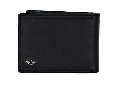 mens rfid blocking extra capacity slimfold wallet