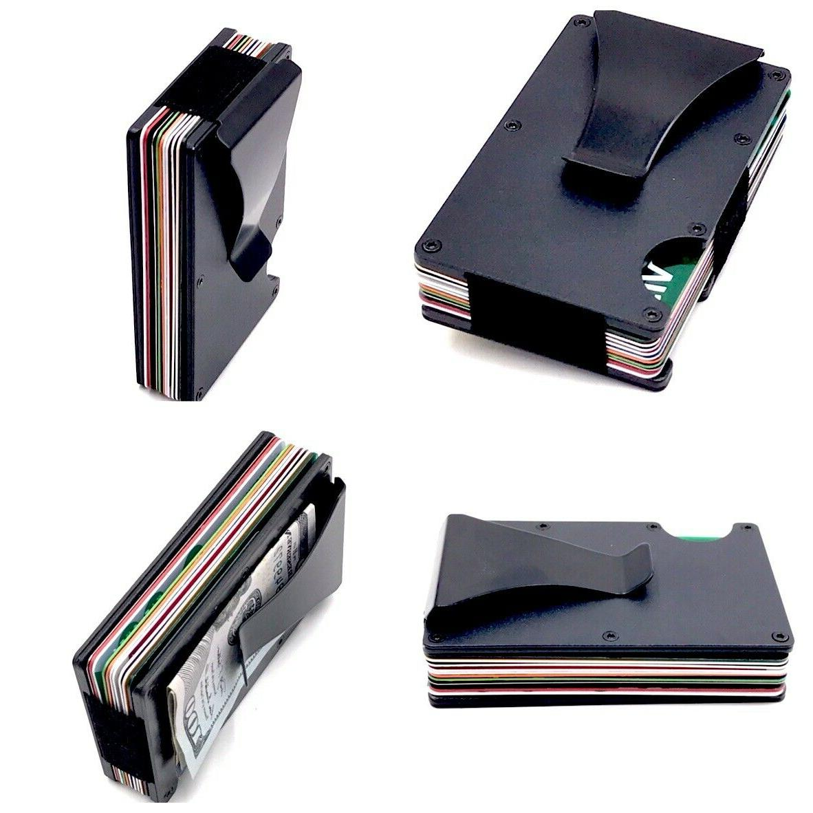 Mens Money Clip Wallet ID Holder