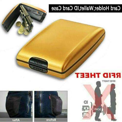 Aluminum Slim Clip Credit Card Purse