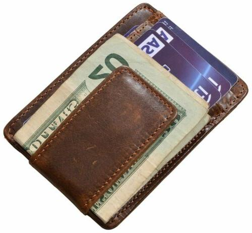 Mens Leather Pocket ID