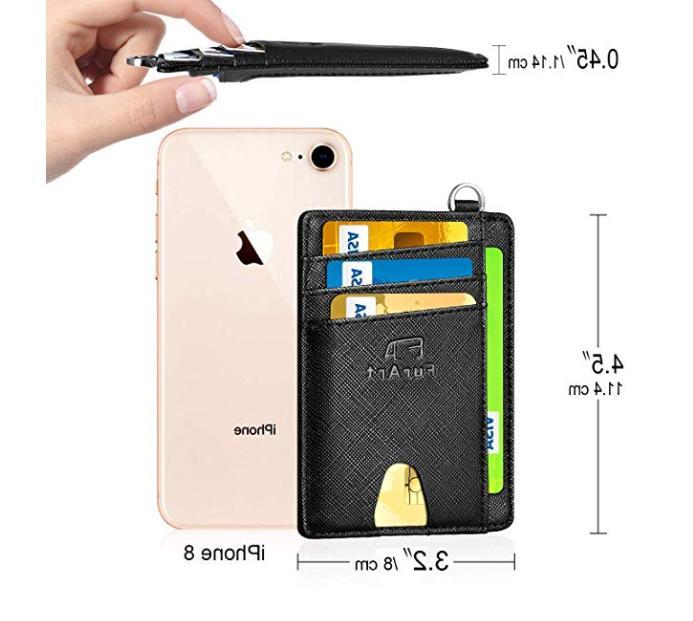 Minimalist RFID Pocket Card Holder Clip