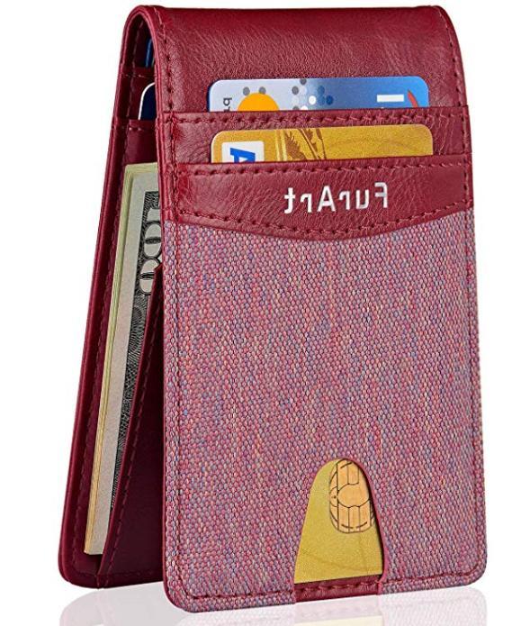 Minimalist Slim RFID Front