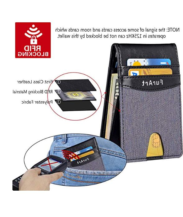 Minimalist Wallet RFID Pocket Credit Card