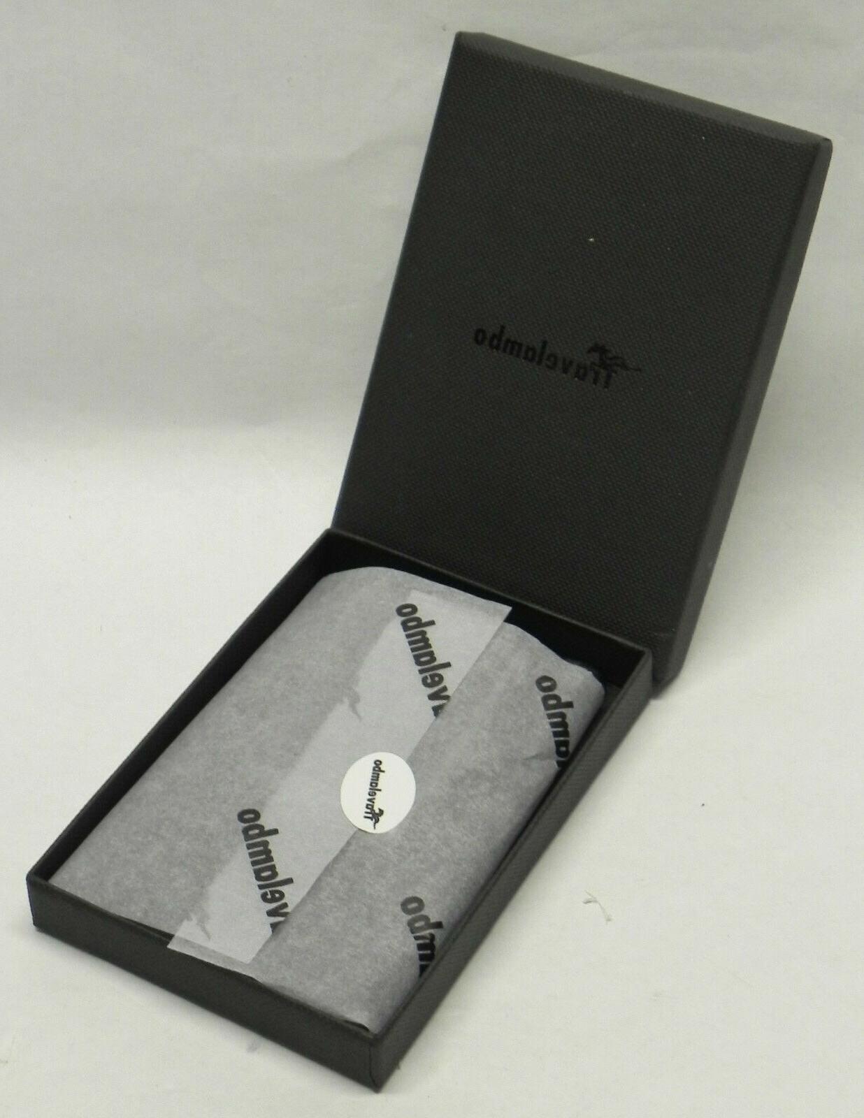 Travelambo Minimalist Slim Wallet, Card