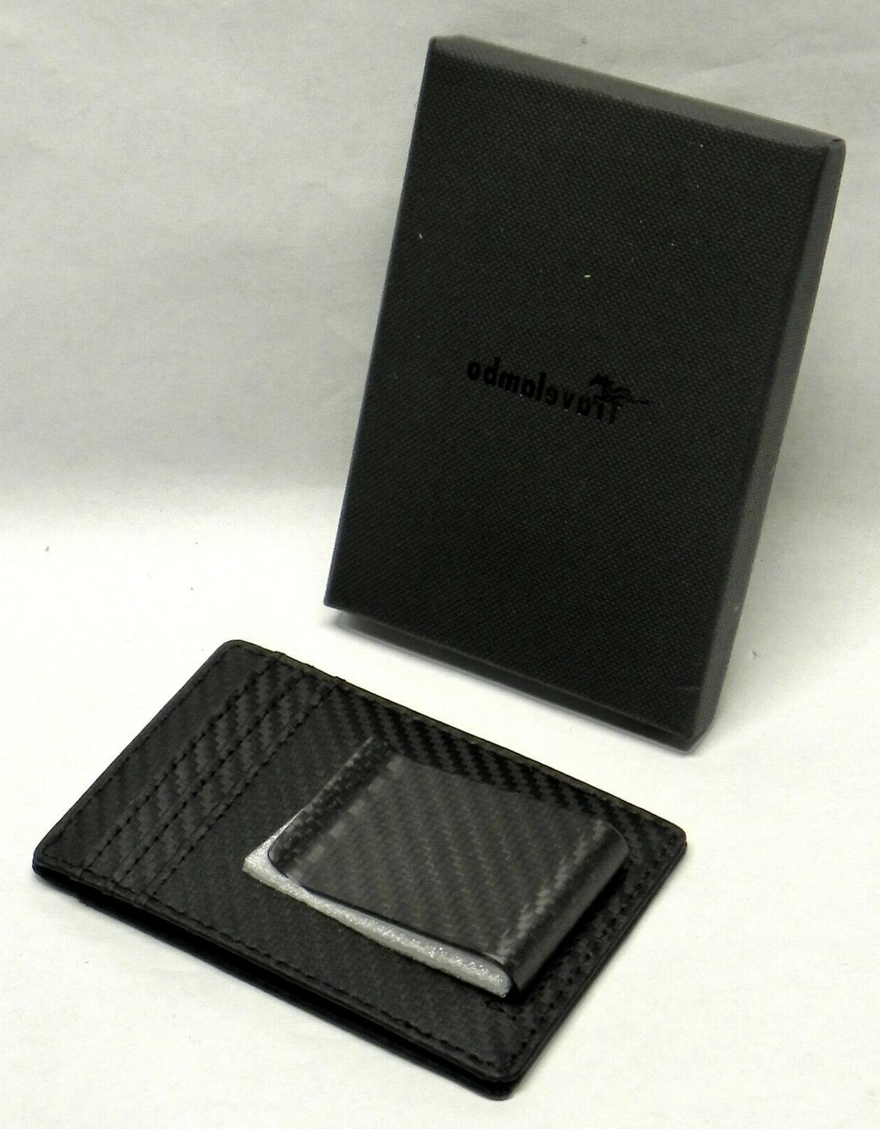minimalist rfid leather slim wallet card carrier