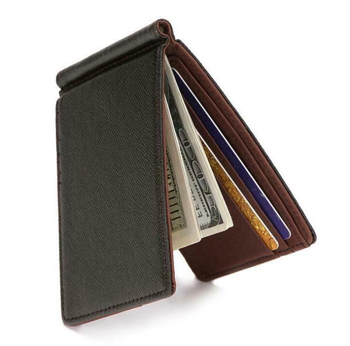 Minimalist Bifold with for Men ID Credit Cash