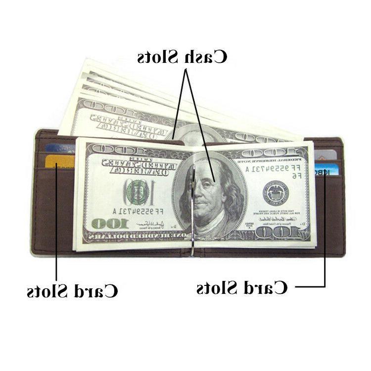 Minimalist Wallet with Money Men ID Credit Cash