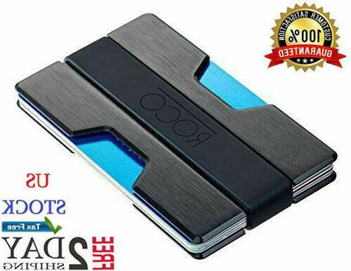 ROCO Minimalist for Men Aluminum Block Cool Money Clip .