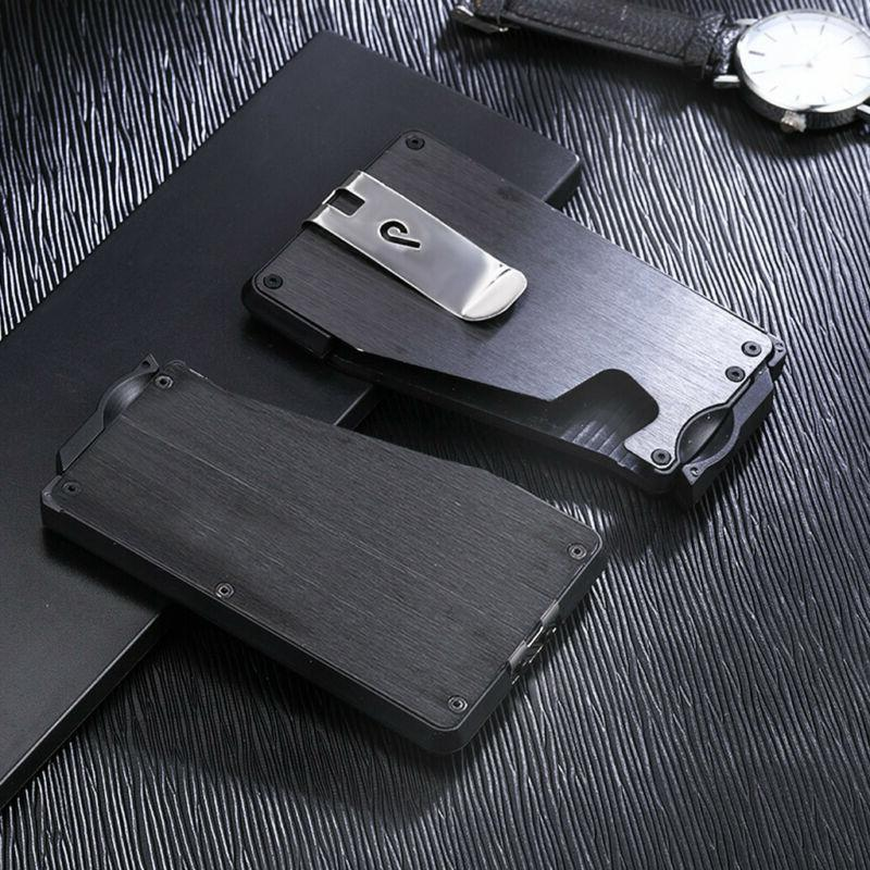 Metal Slim Wallet Pocket Minimalist Card Money