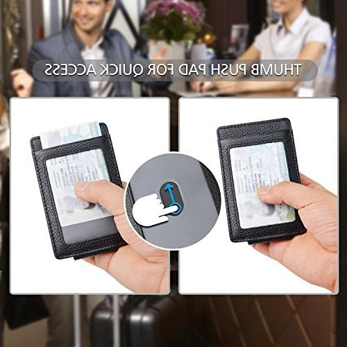 Garigolden RFID Wallet Men