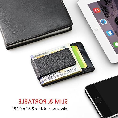 Garigolden Clip, RFID Wallet for Men