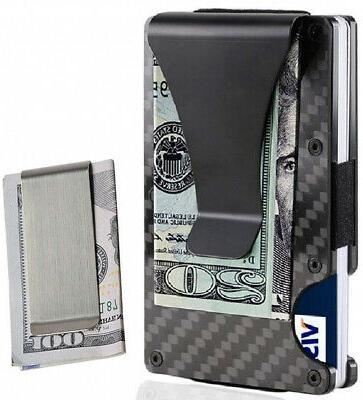 money clip card holder for men slim