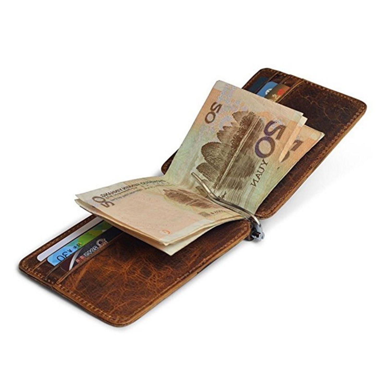 Money Front Pocket Minimalist Vintage Wallet