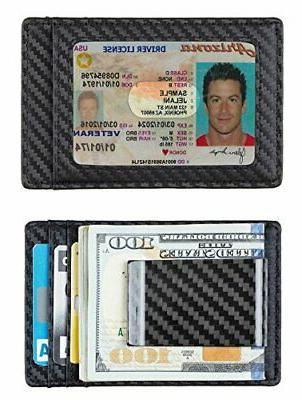Travelambo Money Clip Front Pocket Wallet