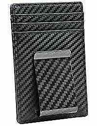 Travelambo Money Clip Front Pocket Wallet Slim Minimalist RF