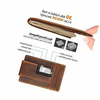 Garigolden Money RFID Wallet Men