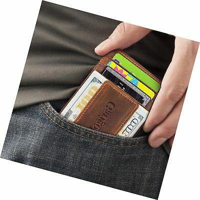 Garigolden RFID Wallet Men Brown
