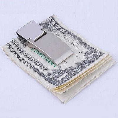 Money Clip Metal Note Holders Wallets Large Bills Men's Fash