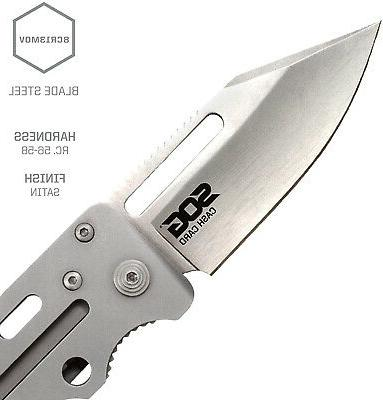 SOG Money Cash Small W/ 2.75 Tactical Blade