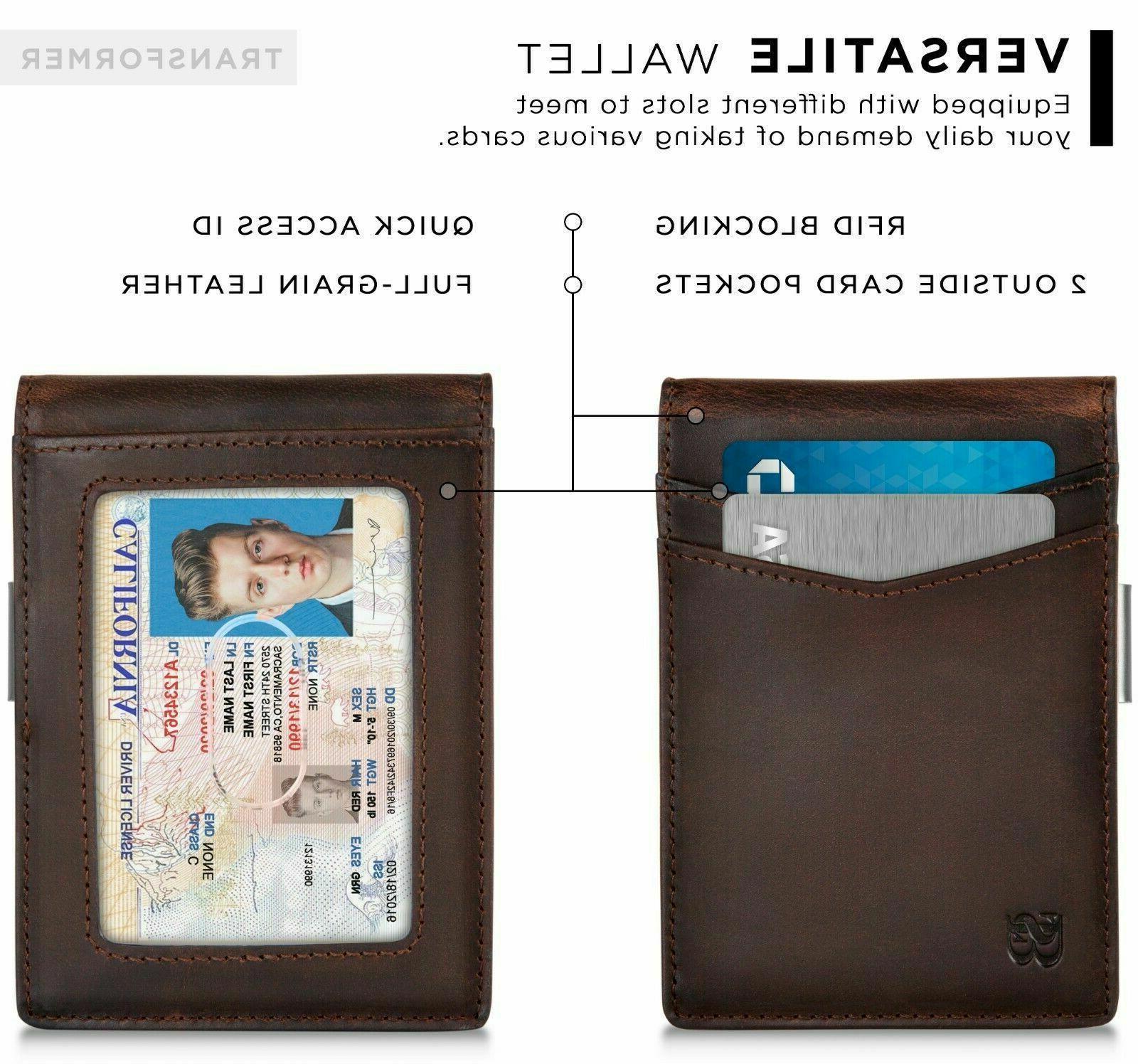 Serman RFID slim Wallet -
