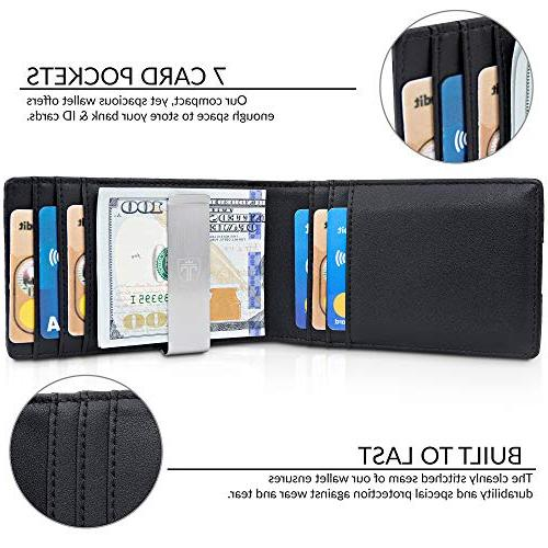 "TRAVANDO Wallet""RIO"" Mens Wallet Blocking Holder 