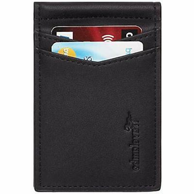 Travelambo RFID Slim Front Wallet