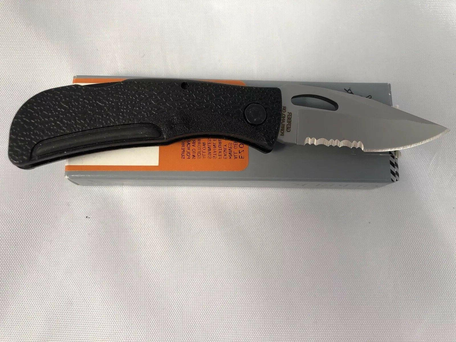 """New Out 2-3/8"""" Blade, Zytel Handles"""