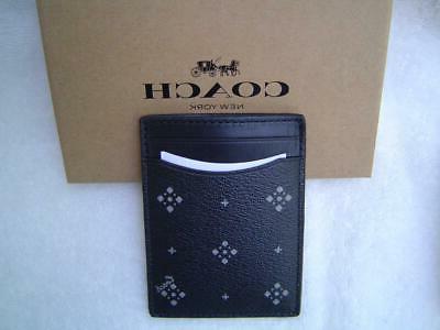 NEW DIAMOND FOULARD 3 1 CARD CLIP #73113