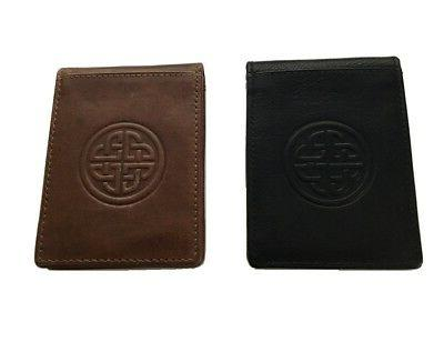 new celtic wallet and money clip irish