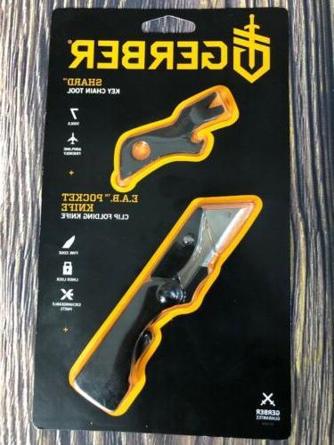 new gerber eab clip folding pocket knife
