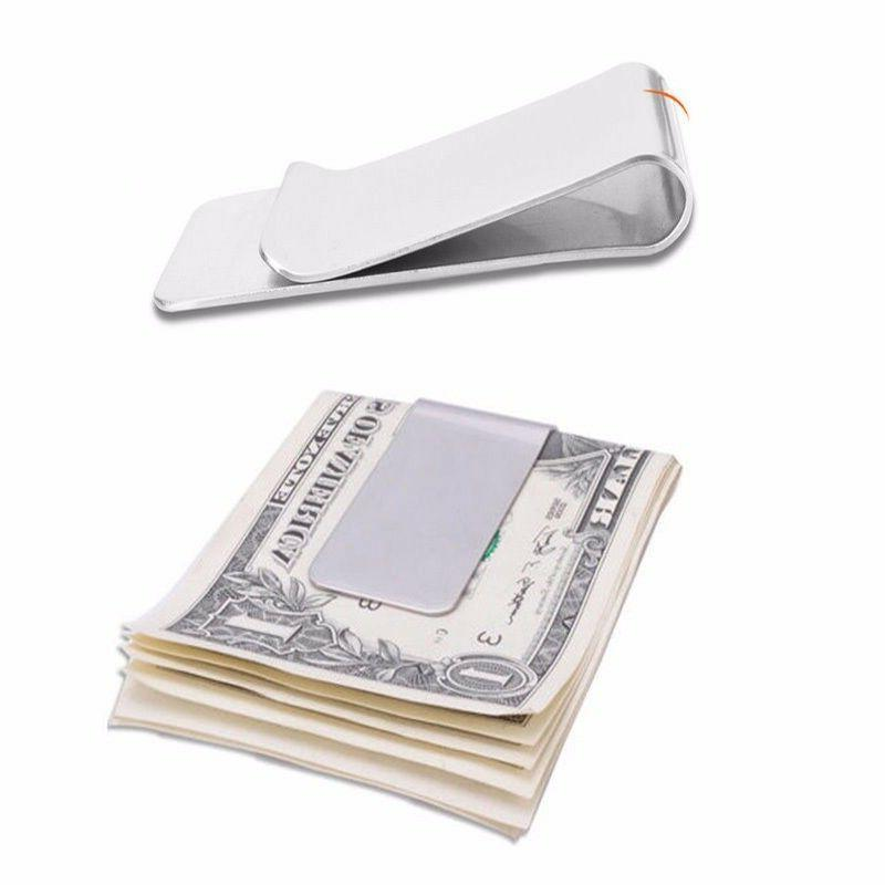New High Quality Steel Money Credit Card Holder