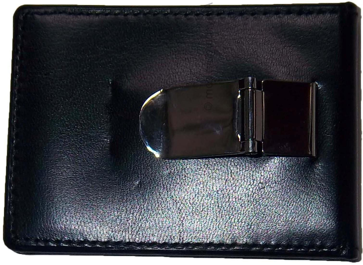 New Leather 3 holder silver metal