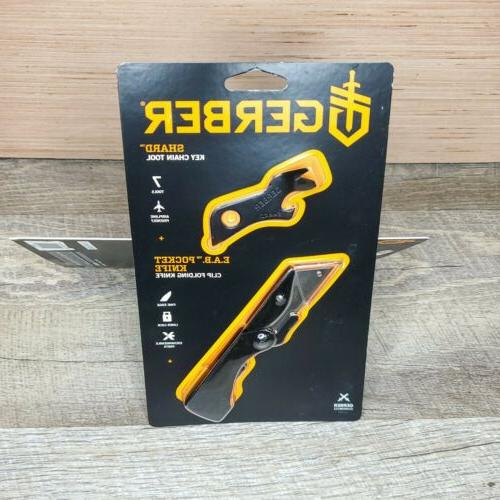 NEW Black Gerber Utility Knife Moneyclip Set