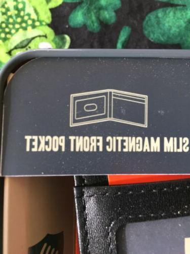 NEW-Men's Pocket Wallet Magnetic Clip
