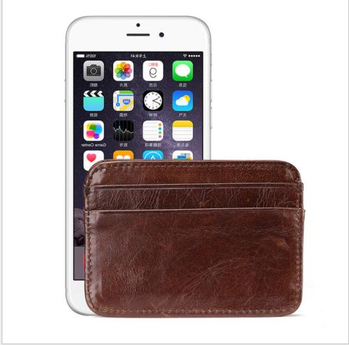 New Money Pocket Leather Mens Wallet