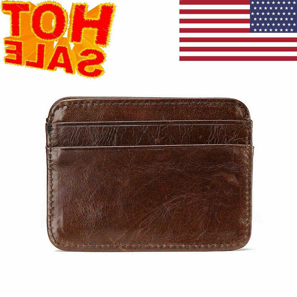 new money clip front pocket minimalist genuine