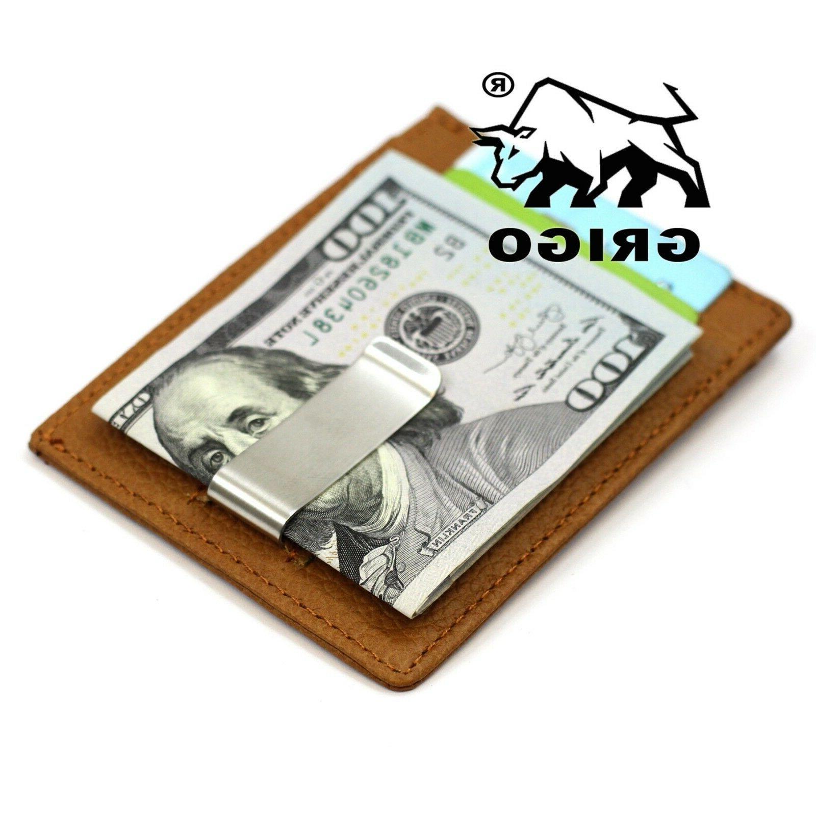 New Slim Wallet Money Leather Man
