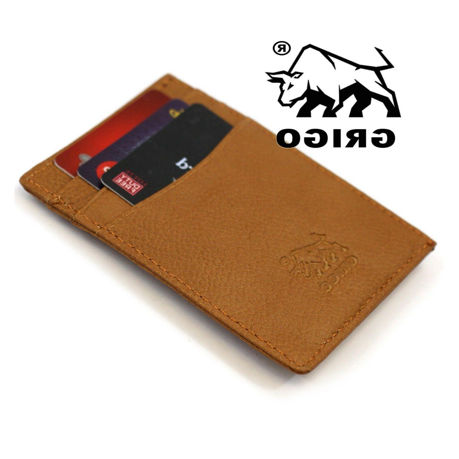 New Money Clip RFID Man