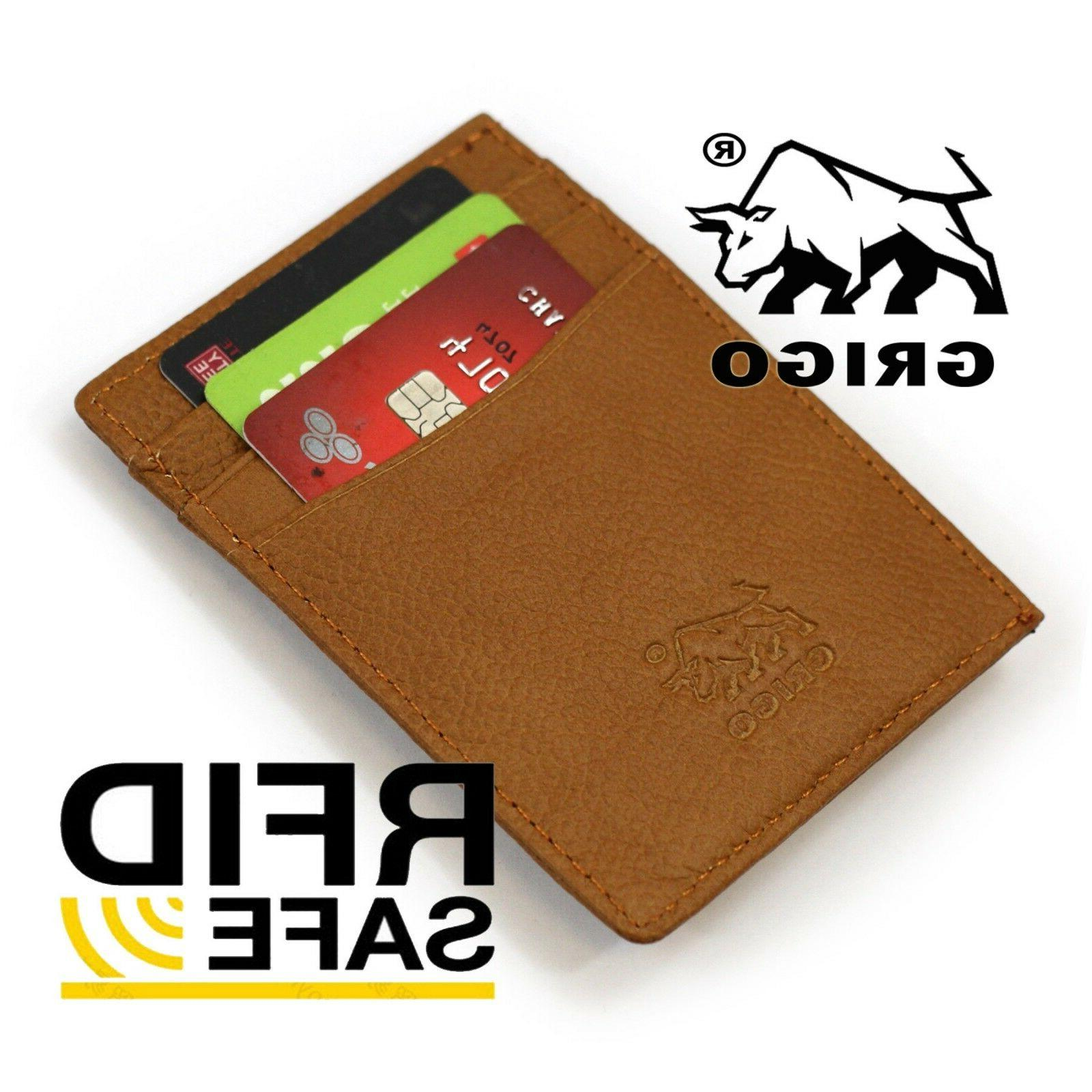 New Wallet with Money RFID Bifold For Man