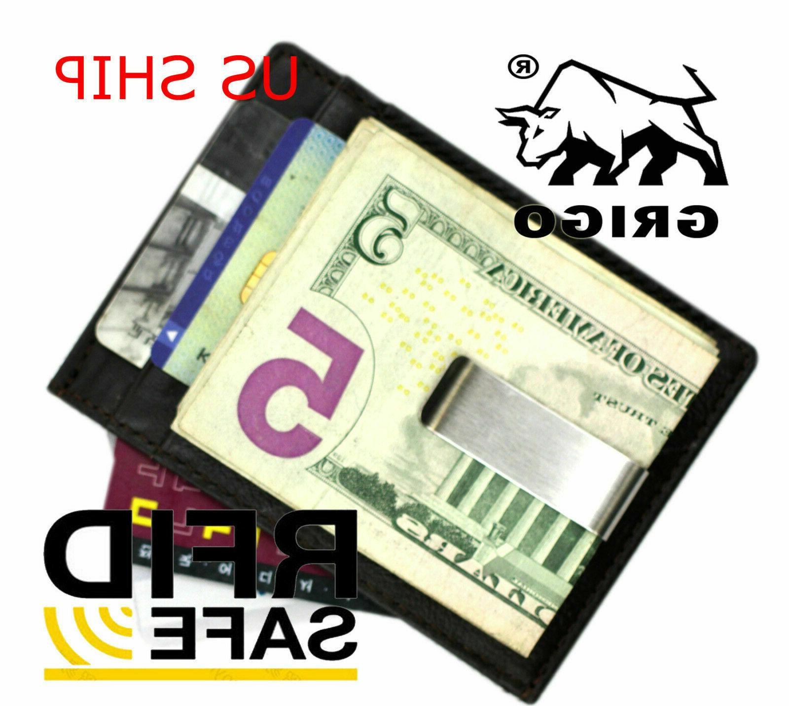 new slim wallet with money clip finest