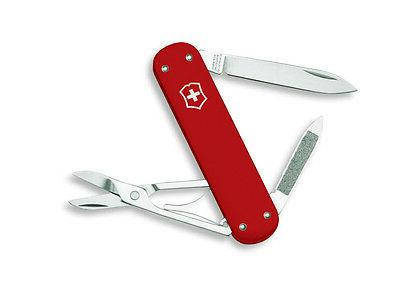 NEW SWISS ARMY MONEY CLIP POCKET RED