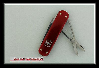 NEW VICTORINOX SWISS ARMY MONEY RED ALOX