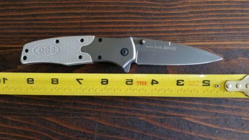 New Tanto Assisted Titanium Tan Desert Pocket Knife