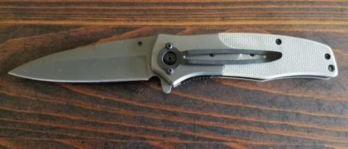 New SOG Tanto Assisted Opening Tan Desert Pocket