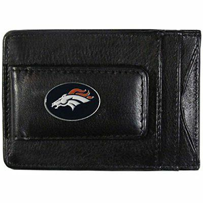 nfl denver broncos leather money
