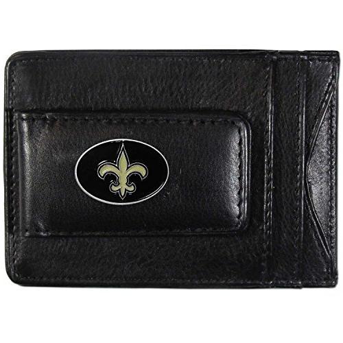 nfl orleans saints leather money