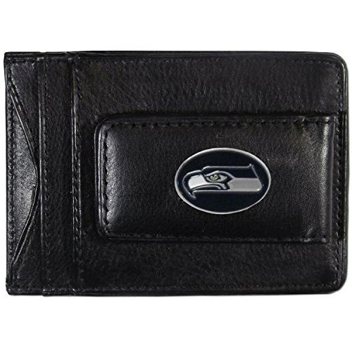 nfl seattle seahawks leather money