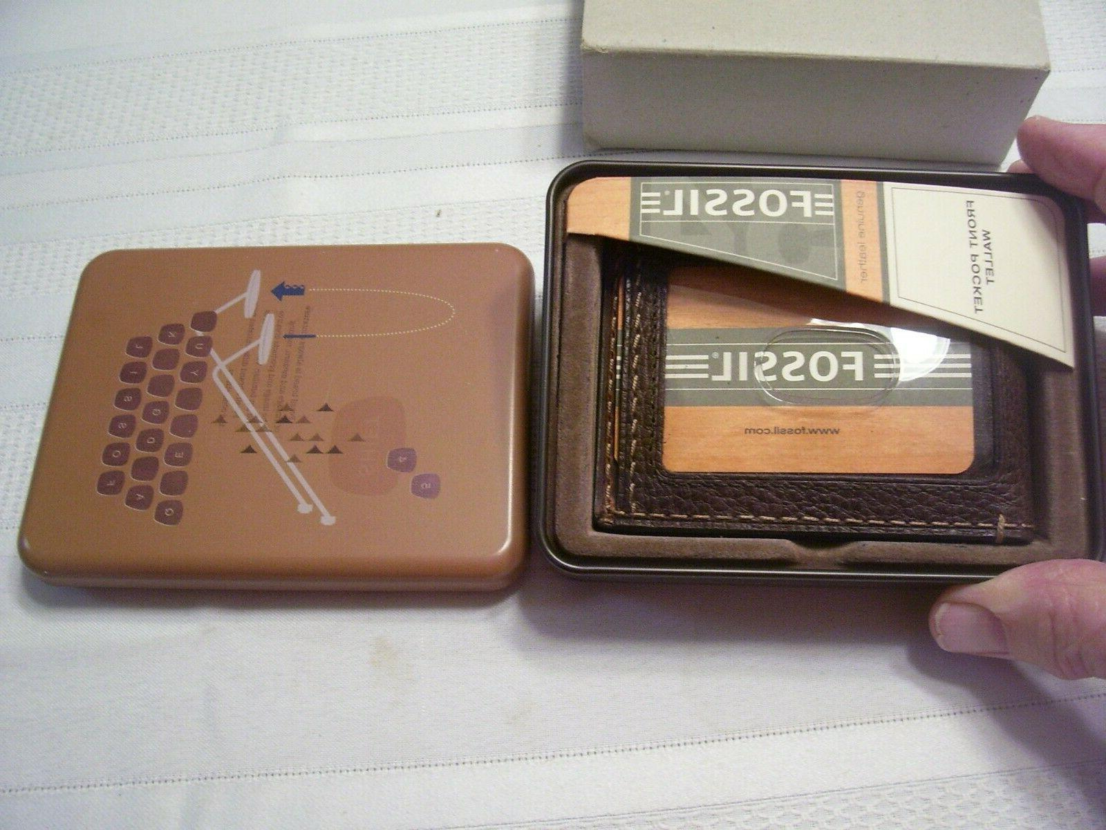 nib front pocket wallet with magnetic money