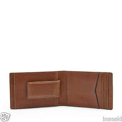 Fossil Original ML3672222 Charles Money Leather Men's Wallet
